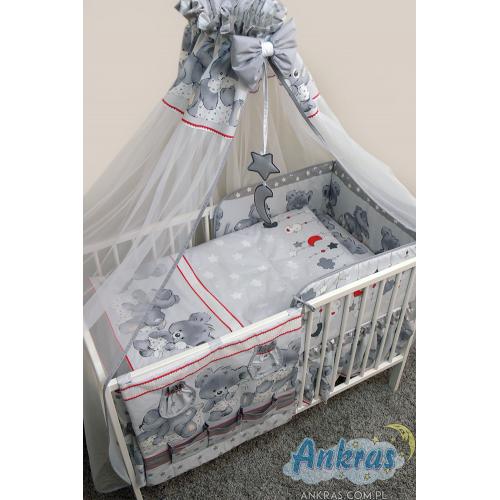 Ankras MIKA 120x90 cm 6-dielna súprava do postieľky