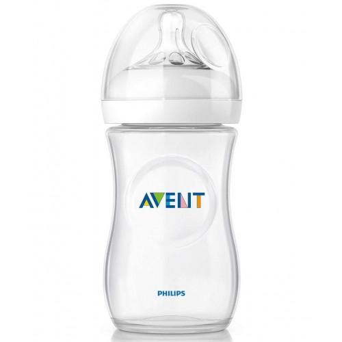 Avent Dojčenská fľaša Natural (260ml) 1m+