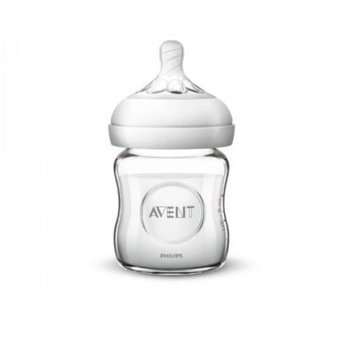 Dojčenská fľaša Natural sklenená (120ml)