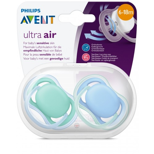 Avent Ultra air 6-18m Cumlík , chlapec (2ks)