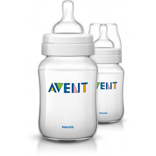 Dojčenská fľaša Klasik+ (260ml) 1m+