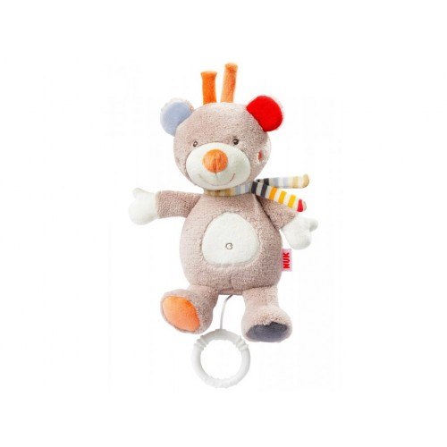 NUK Forest Fun plyšová hračka s melódiou macko