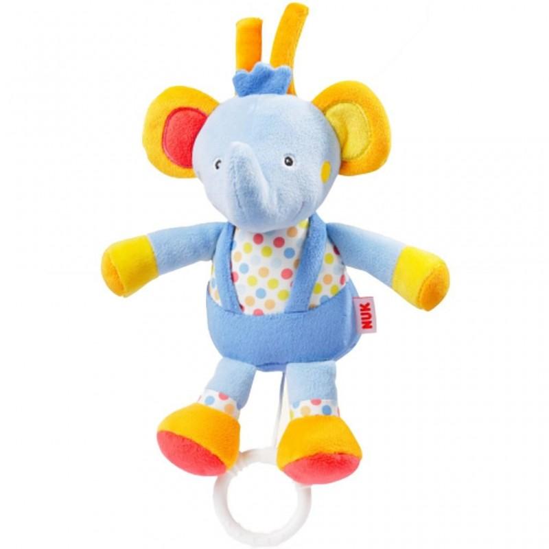 NUK Pool Party hračka s melódiou sloník