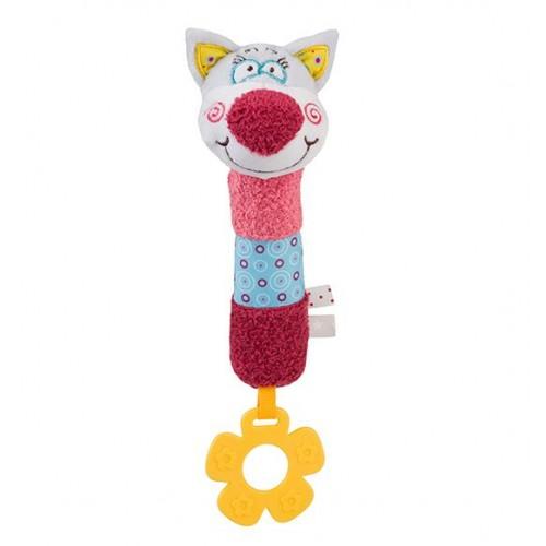 BABYONO hračka pískacia cri-cri mačko OLIVER 20cm, 6m+