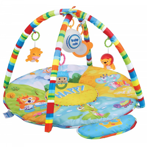 Baby Mix Edukačná deka Zvieratká HS-789-13