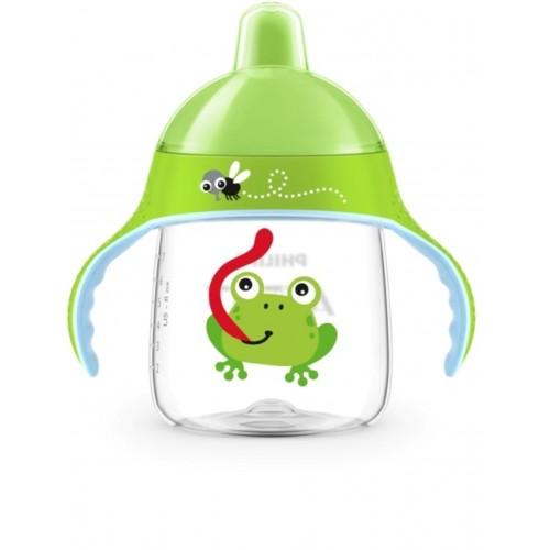 Avent Hrnček pre prvé dúšky Premium 12m+ (260ml) žaba/krab