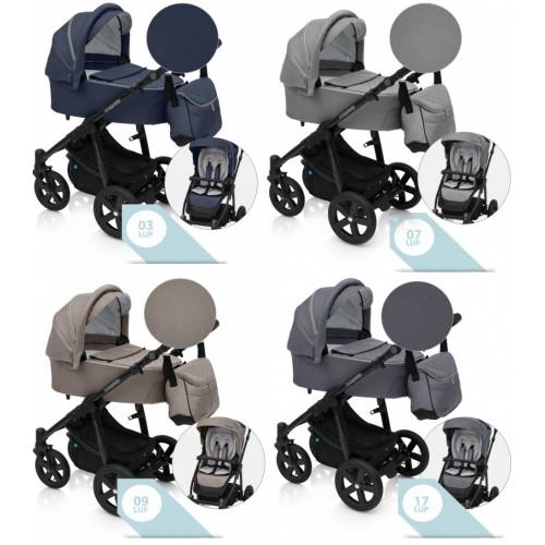 Baby Design LUPO COMFORT 2019 kombinovaný kočík