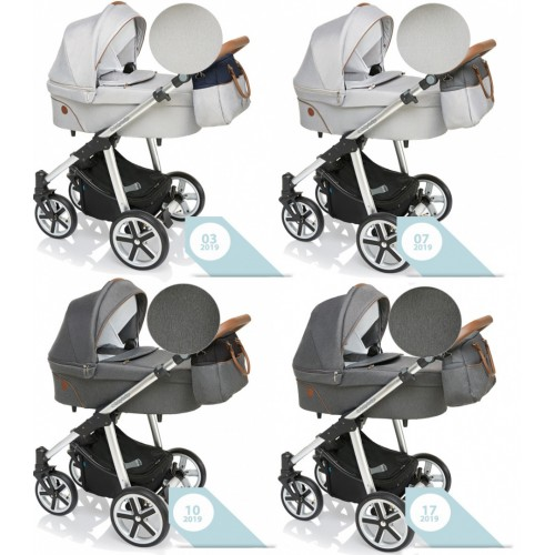 Baby Design DOTTY 2019 kombinovaný kočík