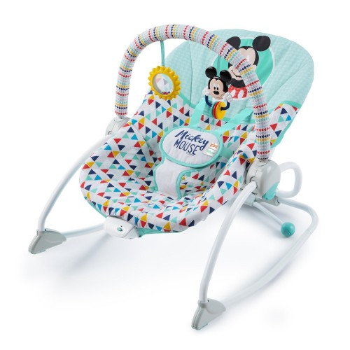 Disney Baby Húpatko vibrujúce MICKEY MOUSE Happy triangles 0m+, do 18 kg, 2019