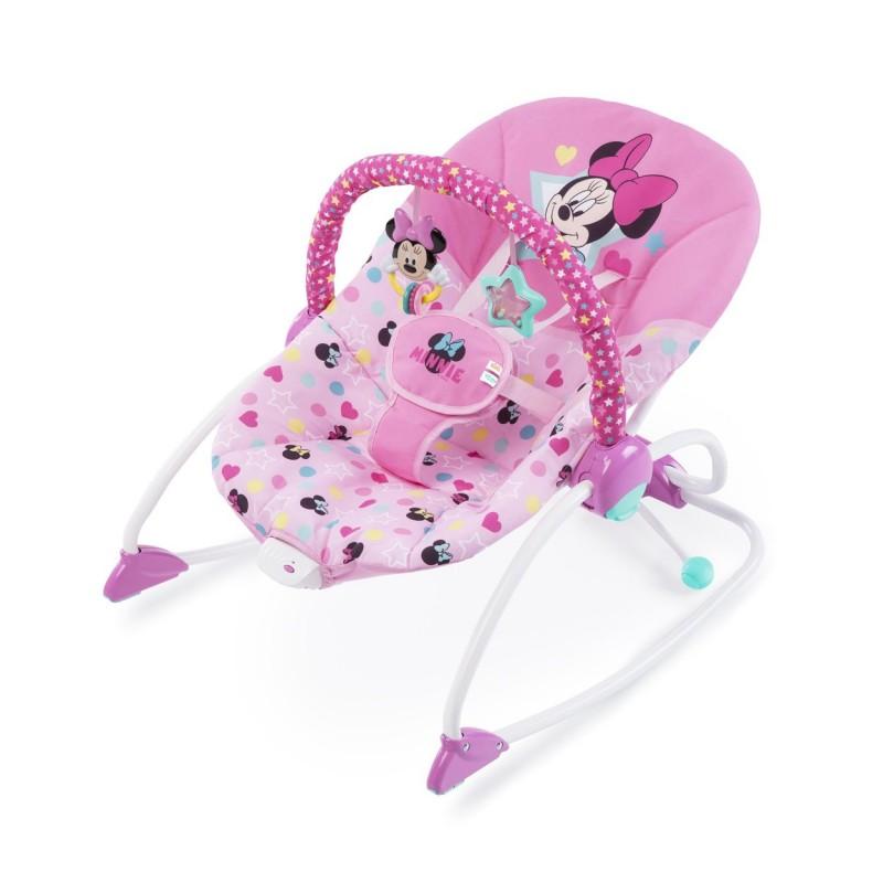 Disney Baby Húpatko vibrujúce Minnie Mouse Stars & Smiles Baby 0m+, do 18kg, 2019