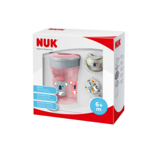 NUK Magic Cup Space Set dievča