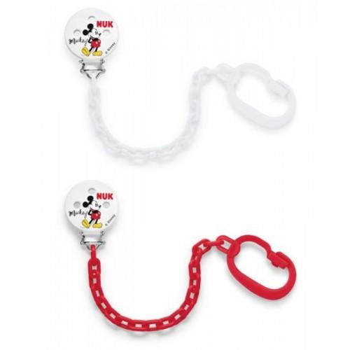 NUK retiazka na cumlík Disney Mickey Mouse