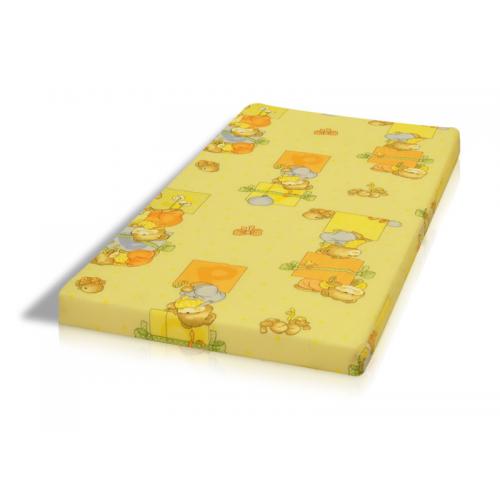 Radir obojstranný detský matrac penový 6cm farebný