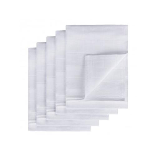 TETRA plienky TOP KVALITA, biela, 80x80, 5ks