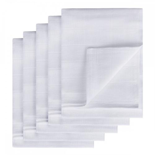 TETRA plienky TOP KVALITA, biela, 70x70, 5ks