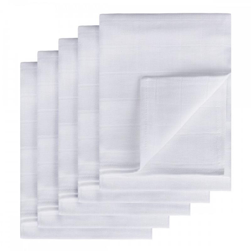TETRA plienky TOP KVALITA, biela, 70x70, 10ks