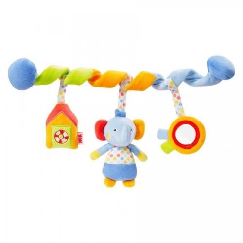 NUK Pool Party hračka špirála sloník