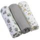 BABYONO plienky mušelínové - super soft (3ks)