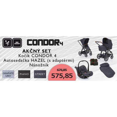 ABC Design Akčný SET Condor 4 2019
