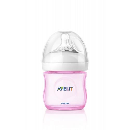 Avent Dojčenská fľaša Natural (125ml) 0m+