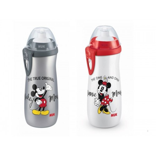 NUK First Choice fľaša Sports Cup Mickey Mouse 450ml