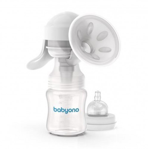 BABYONO manuálna odsávačka materského mlieka ANATOMY