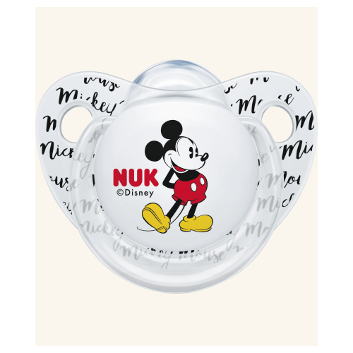 NUK Cumlík Disney Mickey Mouse 6-18m